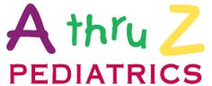 A thru Z Pediatrics - Website designed by Penguin Suits