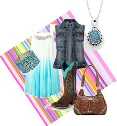 Country summer outfit