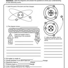Electricity  Magnetism For Kids  Worksheets Kid and Static