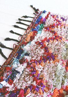 Vintage rag rug from morocco www.houseofharper.com.au photo by Emily Fuglsang