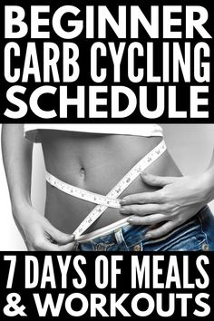 Carb Cycling Diet Workout Plan for Beginners and Beyond. The most effective way to lose weight is to find a diet plan and workout regime that work together. A carb cycling diet workout plan may just be your best bet for weight loss. Quick Weight Loss Tips, How To Lose Weight Fast, Losing Weight, Weight Gain, Reduce Weight, Carb Cycling Meal Plan, Dieta Atkins, Endomorph Diet, Before And After Weightloss