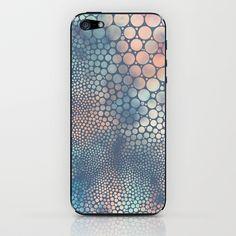 Dream Circles Charcoal iPhone & iPod Skin