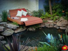 Garden design landscaping Gauteng. Award winning landscapers - The Friendly Plant is a turnkey service provider and also offer design and installation of water features, pools, designer patios, decks, fire pits, irrigation