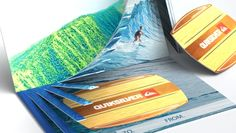 Wave Gift Card #packaging concept for surf brand.