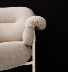Norwegian designer Andreas Engesvik has added a lounge chair with oversized cushions to his collection of furniture for Stockholm brand Fogia Cushions, Pillows, Backrest Pillow, Chair Design, Instagram Posts, Furniture, Chairs, Home Decor, Trends