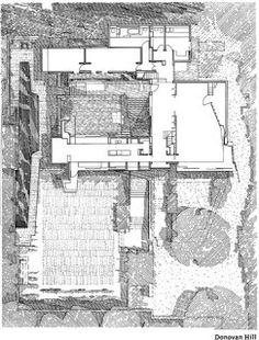 The Arcuate: Second Exemplar: C House. Architecture Drawings, Architecture Plan, Interior Architecture, Architecture Illustrations, Sketch Design, E Design, Arch House, Archi Design, Australian Homes