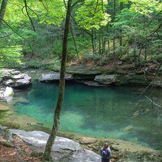 Peekamoose Blue Hole - See Swim