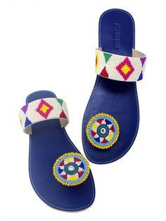 Maasai sandals african sandals leather sandals handmade sandals women fashion kenyan sandals flat sandals beaded sandals multicolor shoes shoes sandals women wear t strap sandals