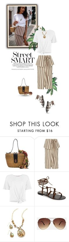 """Uma"" by dkelley-0711 ❤ liked on Polyvore featuring Patricia Nash, Rosie Assoulin, Boohoo, Seychelles, Kim Rogers, Ashley Stewart, boohoo, seychelles and PatriciaNash"