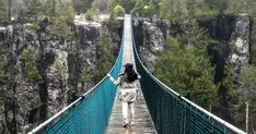 Ontario Is Home To The Longest Suspension Footbridge In Canada And It's Worth A Visit featured image Vacation Destinations, Vacation Trips, Day Trips, Vacations, Mini Vacation, Thunder Bay Canada, Places To Travel, Places To See, Camping Places