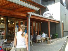 Melissa's in Parkhurst Pergola, Outdoor Structures, Coffee, Cake, Outdoor Decor, Home Decor, Kaffee, Decoration Home, Room Decor