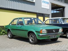 Opel Ascona Retro Cars, Vintage Cars, Antique Cars, Europe Car, Classy Cars, Classic Sports Cars, Small Cars, Future Car, Car Manufacturers