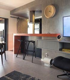 Decoração descolada. Veja: http://www.casadevalentina.com.br/projetos/detalhes/clima-descolado-em-85m--557 #details #interior #design #decoracao #detalhes #decor #home #casa #design #idea #ideia #charm #modern #moderno #charme #casadevalentina