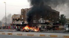 50 Killed in 8 Bombings in #Baghdad