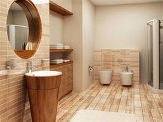 bathroom remodeling contractors wooden