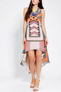 #UrbanOutfitters          #Women #Dresses           #cascading #allover #mirrored #high/low #rounded #neckline #hidden #content #silky #cutout #geo #amazing #deco #hem #maxi #poly #angle #print #care #dress #high                      Ladakh Deco Mirrored Maxi Dress                     Get every angle in this amazing, silky maxi dress from Ladakh with a rounded, cascading, high/low hem. Topped with an allover mirrored geo print.? Finished with a high neckline, and a cutout back with a hidden…