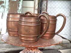 vintage moscow mules...Mintage Rentals provides modern + vintage rentals for staging and special events.