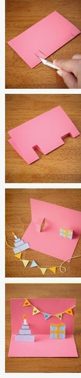 EASY Pop up cards