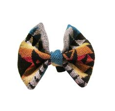 Pendleton wool dog bow tie accessory dog clothing. $20.00, via Etsy.