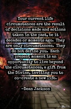 Living Beyond Circumstances ~ Dean Jackson