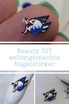 [Beauty/DIY] Nagelsticker/ Nageltattoos selbst machen