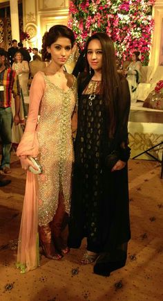 Beautiful suit worn on the left by a lovely client. Shefali Couture Shefu_patel@hotmail.com