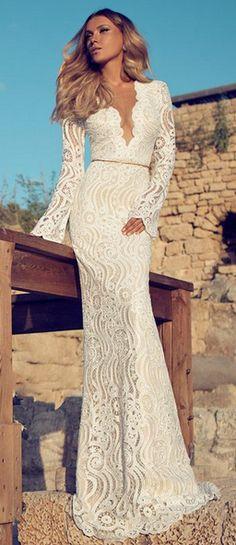 Inspiración para  #vestido de #novia. Una #boda de moda con #WFN ♥♥ The Wedding Fashion Night ♥♥ ♥ Visita www.wfnclub.com ♥