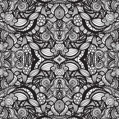 Coloriage de motifs abstraits géométriques
