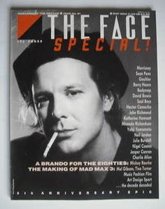 The Face magazine - Mickey Rourke cover (May 1985 - Issue - Acne Treatment Mickey Rourke, The Face Magazine, Miranda Richardson, Photos Of Michael Jackson, Essential Oils For Face, Body Map, Face Mapping, Acne Causes, Body Organs