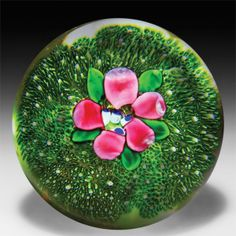 278 best paperweights with flowers images on pinterest glass