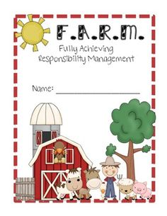 Farm Theme Binder Covers Farm Activities, Autumn Activities, Back To School Night, First Day Of School, Notebook Organization, Classroom Organization, Classroom Design, Classroom Themes, Toddler Class