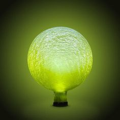 Achla Designs Solar Gazing Globe 10Inch Lemon Drop Frosted >>> You can find more details by visiting the image link.