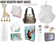 Baby Registry Must Haves | Little Baby Garvin