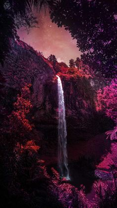 Nature Waterfall iPhone Wallpaper - iPhone Wallpapers