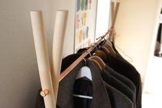 Wood & Copper Wardrobe von Calvill auf DaWanda.com