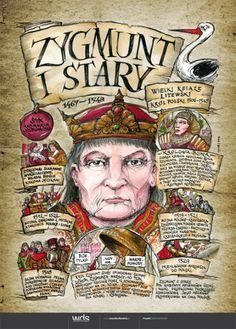 Zygmunt Stary - Poczet królów polskich - PlanszeDydaktyczne.pl