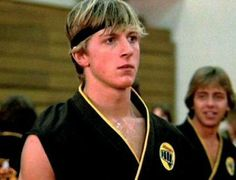 """William Zabka as Johnny in'Karate Kid'(Image: Columbia) William Zabka's """"sweep the leg"""" days are officially behind him.  The actor, who played Daniel LaRusso's teenage tormenter Johnny in Karate Kid, delivered a powerful anti-bullying message to a group of Maryland karate students on Saturday — and"""