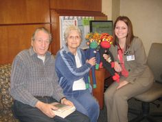 Bob, Mom, NoMo, Phoenix and Mom's Oncology PA Linsey Allen.  At Mayo Clinic in Phoenix