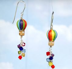 Check out our Hot Air Balloon Earring Project. This project kit is possibly the cutest accessory ever