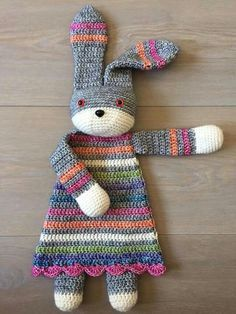 ♡ So lovely ♡ Lappenpop - pattern on Ravelry: Bunny Ragdoll pattern by A la Sascha                                                                                                                                                                                 Mehr