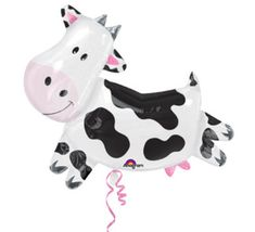 Your place to buy and sell all things handmade Farm Party Favors, Farm Themed Party, Barnyard Party, Cow Birthday Parties, Zoo Birthday, Cowgirl Birthday, Cow Toys, Happy Cow, Balloon Animals