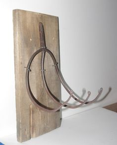 Antique Pitch Fork Coat and Hat Rack antique iron by ReUpDesigns, $40.00