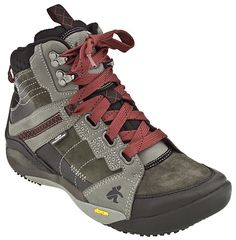 Cushe Traveller Tammerack WP - Waterproof Ankle Boot (Grey/Red)