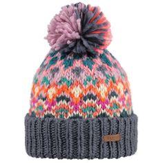 Barts Carmen Beanie Ski Hat in Dark Heather
