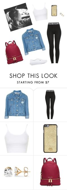 """""""✨"""" by paradise19t ❤ liked on Polyvore featuring Topshop, Calvin Klein, Dolce&Gabbana, MICHAEL Michael Kors, Justin Bieber and Vans"""
