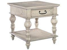 Hekman Homestead Linen Drawer Lamp Table