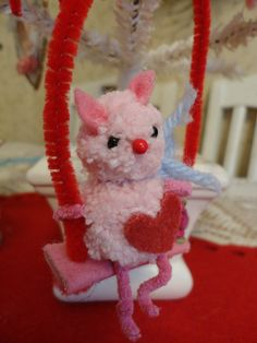 itty bitty valentine kitty! by vivianneroni, via Flickr