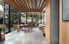 Harry House in Coburg, Melbourne by Archier | Yellowtrace Australian Architecture, Interior Architecture, Residential Architecture, Interior Design, Communal Kitchen, Weatherboard House, Timber Ceiling, Design A Space, House Design