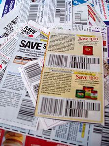 "I love coupons because it's like free money.  But remember - coupons only save you money if you are buying something you actually need. I'm that dork you see in the grocery store with my calculator out, comparing the ""per unit"" cost of one brand versus another. If the generic is cheaper, that's what goes in my cart."
