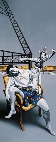 1996 DAYDREAM, by Zhong Biao (鍾飆b1968, Chongqing, Sichuan Province)